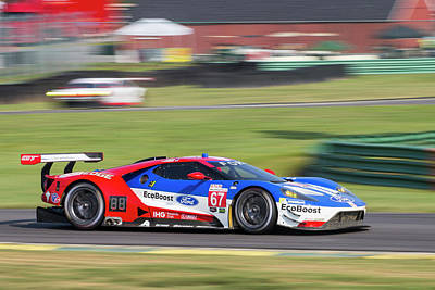 Photograph - Ford Gt 67 by Alan Raasch