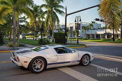 Photograph - Ford Gt by Brian Jannsen