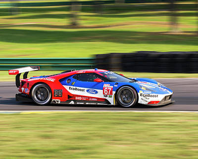 Photograph - Ford Gt Briscoe Westbrook by Alan Raasch