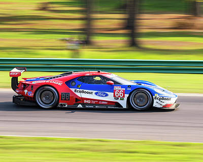 Photograph - Ford Gt Hand Muller by Alan Raasch
