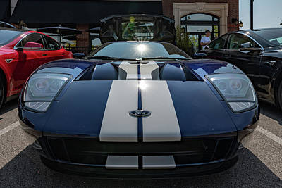 Photograph - Ford Gt by Randy Scherkenbach