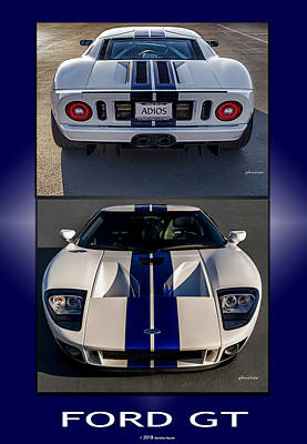 Photograph - Ford Gt by Steven Milner