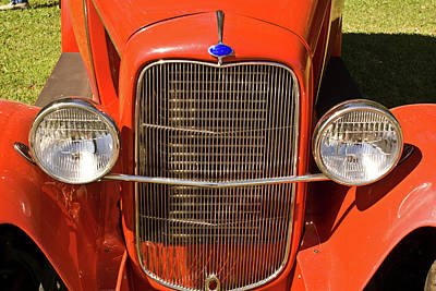 Guns Arms And Weapons - Antique Car Headlights by Douglas Barnett