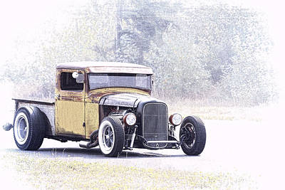Photograph - Ford Hot Rod II by Athena Mckinzie