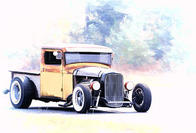 Photograph - Ford Hot Rod IIi by Athena Mckinzie