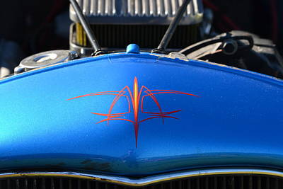 Photograph - Ford Hotrod Pin Striping by Dean Ferreira