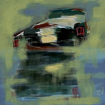 Painting - Ford by Jim Vance