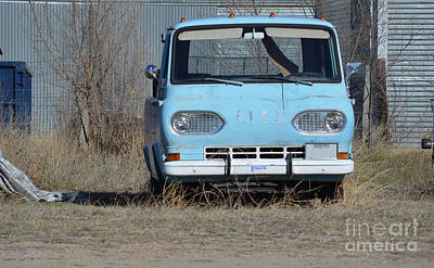Photograph - Ford Light Blue by Renie Rutten