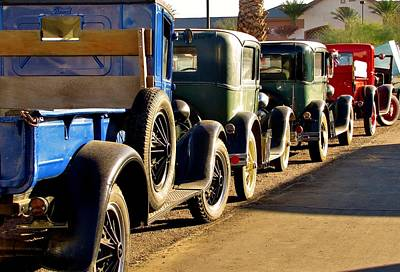Photograph - Ford Lineup by Marilyn Smith