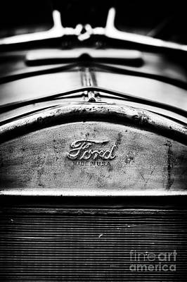 Ford Made In Usa  Art Print by Tim Gainey
