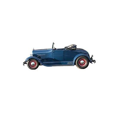 Photograph - Ford Model A by John Haldane