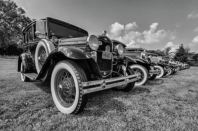 Lizzie Photograph - Ford Model T by Mike Burgquist