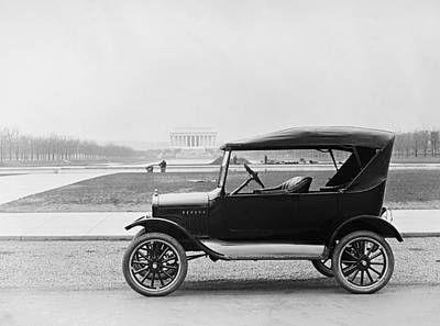 Ford Model T, Touring Car With Room Art Print by Everett