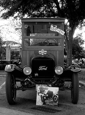 Photograph - Ford Model T Truck  by Chris Mercer