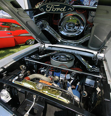 Photograph - Ford Mustand 23 by Joseph C Hinson Photography