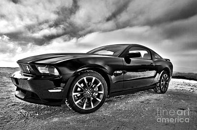 Photograph - Ford Mustang 5.0 by Doc Braham