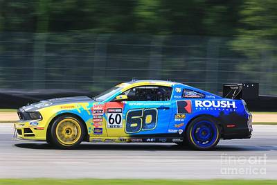 Sports Royalty-Free and Rights-Managed Images - Ford Mustang by Douglas Sacha