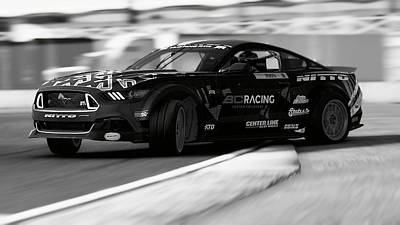 Photograph - Ford Mustang Rtr, 2017 - 36 by Andrea Mazzocchetti