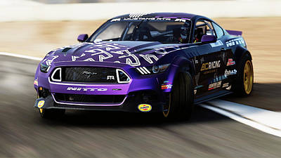 Photograph - Ford Mustang Rtr, 2017 - 38 by Andrea Mazzocchetti