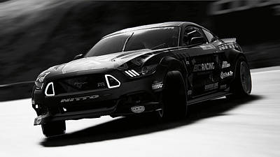 Photograph - Ford Mustang Rtr, 2017 - 55 by Andrea Mazzocchetti