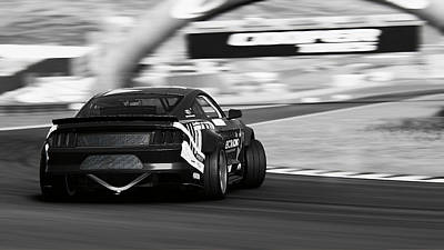 Photograph - Ford Mustang Rtr, 2017 - 56 by Andrea Mazzocchetti