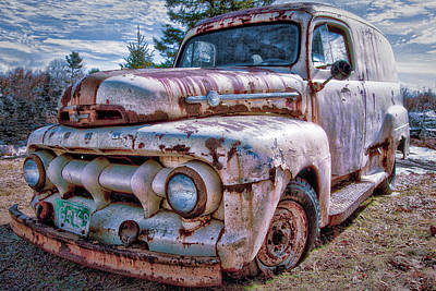 Photograph - Ford Panel Truck by Gary Shepard