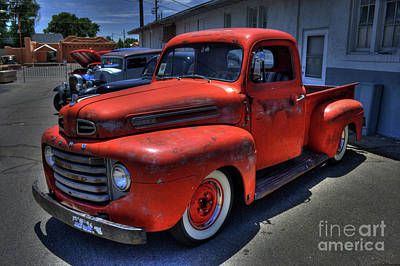 Photograph - Ford Pick-up by Tony Baca