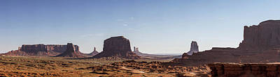 Photograph - Ford Point Monument Valley Gigapan  by John McGraw