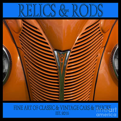 Photograph - Ford 14 - Relics And Rods by Wendy Wilton