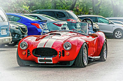 Cobra Photograph - Ford/shelby Ac Cobra by Steve Harrington
