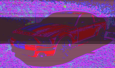 Ford Shelby D4 Art Print by Modified Image