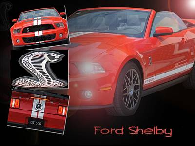Photograph - Ford Shelby by David and Lynn Keller