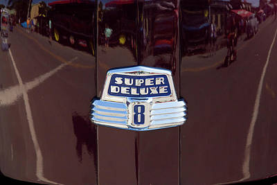 Photograph - Ford Super Deluxe 8 by David Stasiak