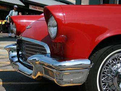 Photograph - Ford Thunderbird 57 Front by David Dunham