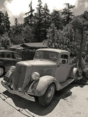 Renewing Photograph - Ford Tough by Gordon Beck