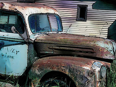 Digital Art - Ford Tough by Leslie Montgomery