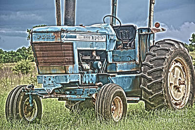 Photograph - Ford Tractor by Janice Spivey