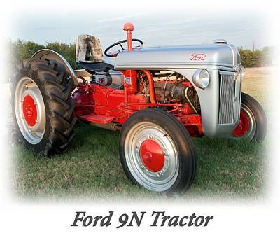 Photograph - Ford  Tractor T Shirt  by Rospotte Photography