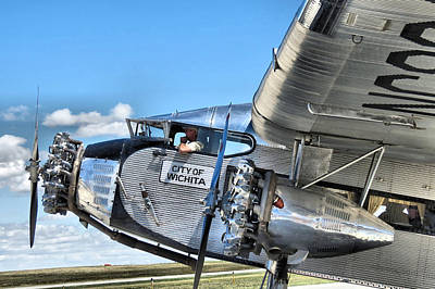 Ford Trimotor Photograph - Ford Trimotor by Michael Daniels