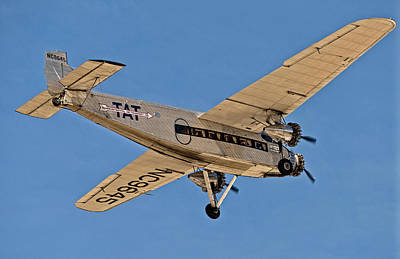 Ford Trimotor Photograph - Ford Trimotor by Sandra Selle Rodriguez