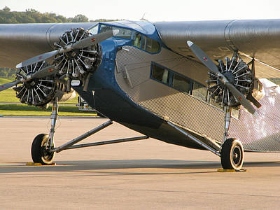 Ford Trimotor Photograph - Ford Trimotor by Tim Mulina