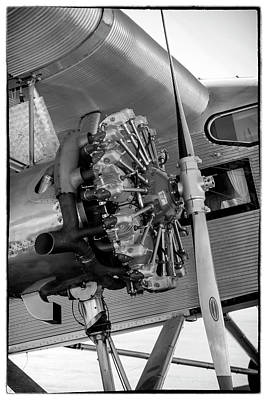 Photograph - Ford Trimotor Wright J6 by Chris Smith