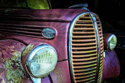 Photograph - Ford Truck 1938-1939 by Debra and Dave Vanderlaan