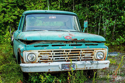 Photograph - Ford Truck  by Alana Ranney