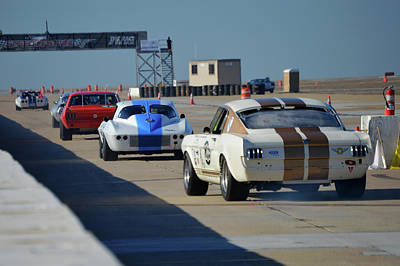 Photograph - Ford V Chevy by Bill Dutting
