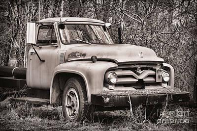 Photograph - Ford V8 by Alana Ranney