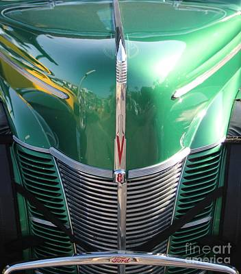 Photograph - Ford V8 by Dodie Ulery