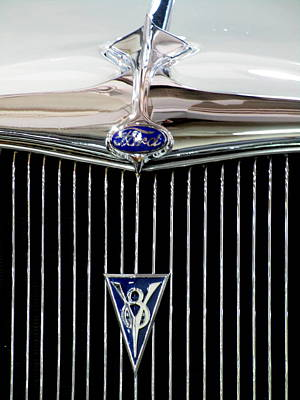 Photograph - Ford V8 by Randall Weidner