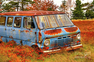 Photograph - Ford Van by Alana Ranney