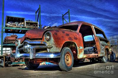 Photograph - Ford Woody by Tony Baca